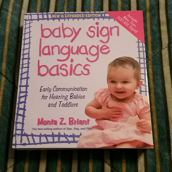 Other Baby Sign Language Book Poshmark